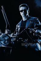 TERMINATOR 2 TEXTLESS MOVIE POSTER FILM A4 A3 ART PRINT CINEMA