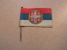insigne de journee    drapeau guerre  journee serbe (ref 6000)