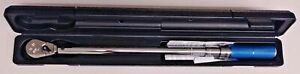 """Armstrong Tools 64-085N 1/2"""" Drive Micrometer Torque Wrench 20 ft/lb - 150 ft/lb"""