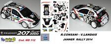 PEUGEOT 207 S2000 -  CONSANI  - JANNER  Rally   2014