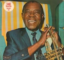 Louis Armstrong(Vinyl LP)Louis' Great Hits Recorded Live-Brunswick-BRBS-VG-/VG