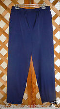 ALFRED DUNNER PANTS~Navy~Elastic Waist~Pockets~Miss Size 16~FREE SHIP