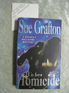 H Is For Homicide - Sue Grafton OzSellerFasterPost!
