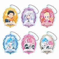 Acrylic Stick Key Holder Key Chain w//Charm 5 Types Official Japan NEW Haikyuu!