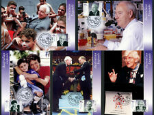 2002 Science Legends Maxi Cards Prepaid Postcard Maxicards Stamps Australia