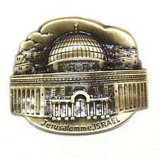 Temple Mount Jerusalem Israel Travel Souvenir 3D Metal Fridge Magnet Gift