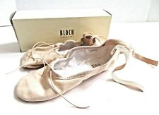 BLOCH Canvas Ballet Shoes Pink size 4.5B US 6.5 Narrow Women's S0277L