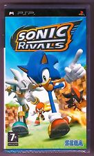 PSP Sonic Rivals, Version Francaise (2010), Brand New Sony Factory Sealed