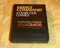 MISSILE COMMAND cartridge for Atari 400/800/XL/XE computer COMES GUARANTEED GAME