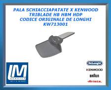 PALA SCHIACCIAPATATE X KENWOOD TRIBLADE HB HBM HDP KW713001 DE LONGHI ORIGINALE