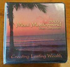 2003 Maui Mastermind 16 DVD Video Component Set: Creating Lasting Wealth
