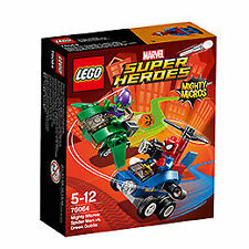 Lego Marvel Super Heroes Mighty micros Spider-Man vs. Green Goblin (76064)