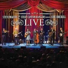 Steve Martin and The Steep Canyon Rangers Featuring Edie Brickell Live Cd/dvd C