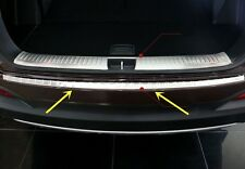 Stainless Out Rear Bumper Protector Sill Plate Cover For Kia Sorento 2016-2018