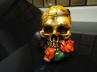Skull  Ceramic  Tobacco  Smoking Pipe.  ( PM1242 )