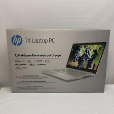 "New listing New Hp 14"" Hd laptop Amd Ryzen 3 3.5Ghz 1 Tb Hdd 4Gb Ram Mic Webcam Windows 10"