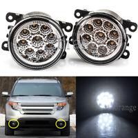 2X LED Front Bumper Fog Light Driving Lamp For Ford Explorer 2011 12 13 14 2015