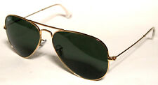 RAY BAN 3025 58 AVIATOR 001/58 GOLD SUNGLASSES ORO POLARIZZATO POLARIZED