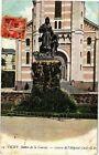 CPA Vichy-Statue de la Charité-Entrée de l'Hopital Civil (266901)
