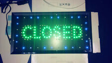 Usa Motion Running Led Business Open/Closed Sign+On/Off Switch Bright Light Neon