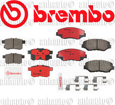 Brembo Front & Rear Brake Pads for  Honda Accord LX 2008-2009