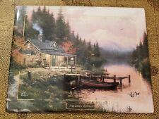 New ListingThomas Kinkade's Autumn Retreat Plate Seasons Of Reflection limited edition 2000