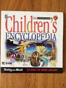 PC CD-ROM Childrens Encyclopedia (Ages 7-11) DK Eyewitness / Daily Mail Promo