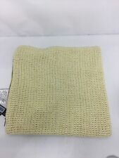 Kenneth Cole New York Knit Yellow decorative Pillow Case 16*16in