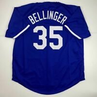 New CODY BELLINGER Los Angeles LA Blue Custom Stitched Baseball Jersey Men's XL