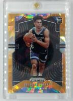 2019-20 Panini Prizm Orange Cracked Ice Brandon Clarke Rookie RC #266, Refractor