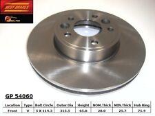 Disc Brake Rotor-Standard Brake Rotor Front Best Brake GP54060
