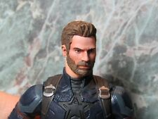 HEAD ONLY Marvel Legends Custom painted Head Captain America Infinity War