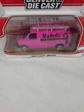 MICHELLE'S DENVER DIE CAST METAL PINK VAN MENARDS