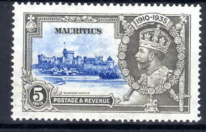 Mauritius Silver Jublee item 1935 MLH  KGV [M310821]