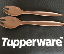 Tupperware Allegra Servers - Set of 2 - Chocolate - BRAND NEW