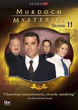 Murdoch Mysteries Season 11  ( 5 DVD discs set)