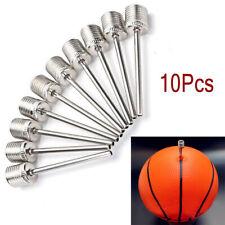 10pcs Sport Inflating Needle Pin Nozzle Basketball Football Soccer Ball Air Pump