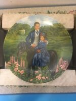 Knowles Bonnie and Rhett 1985 Gone With The Wind Collector Plate Original Box