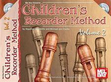 Méthode enregistreur pour enfants, volume 2