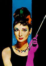 Audrey Hepburn A3 High Quality Canvas Art Print