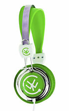 Urbanz TALKZ Girls Boys Childrens Kids Teens Lightweight DJ Headphones - Green