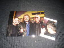 LED zeppelin John paul Jones signed autographe sur photo 20x28cm + preuve inperson