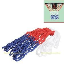 Durable Standard 5mm Nylon Thread Sports Red Basketball Rim Mesh Net
