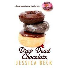 Drop Dead Chocolate (A Donut Shop Mystery)-ExLibrary
