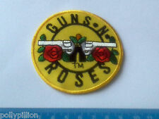 PUNK ROCK HEAVY METAL MUSIC SEW ON / IRON ON PATCH:- GUNS & ROSES (c) SIZE B