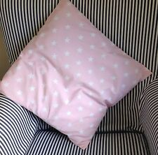BABY PINK SHOOTING STAR NURSERY CUSHION COVER - 16 Inch square - NEW
