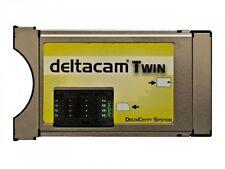 Deltacam Twin 2.0 CI CI+ Modul HD 14 13 23 09 11 12 SAT Kabel DVB-C DVB-S