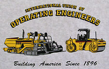 Paving Machine Operating Engineers T-Shirt Paver Roller