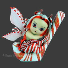 *CANDY CANE CRAZY* Strangeling Fairy Ltd Edition Doll By Jasmine Becket-Griffith
