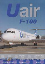 JUST PLANES COCKPIT (DVD) Uair Fokker F-100 (NEW - SEALED)